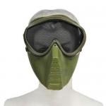 Face Masque Adulte pour le jeu fusil de chasse-VERT