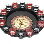 Relaxdays Jeu à boire Roulette pour soirées et fêtes