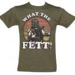 Kaki Que Le T Shirt Wars Fett Star Hommes