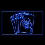ras publicitšŠ casino de jeu de poker royal conduit de lumiššre de signe