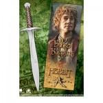 The Hobbit - Bilbo Baggins Sting Sword Pen And Bookmark Set