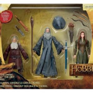 Le Hobbit - BD16084 - Pack de 3 Figurines Articulées