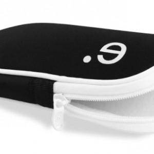 Be.ez 100368 Housse LA robe pour Sony PSP Noir/Blanc