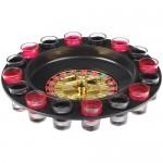 Coffret Jeu Apéro Roulette à Boire Casino 16 verres shot Cocktail