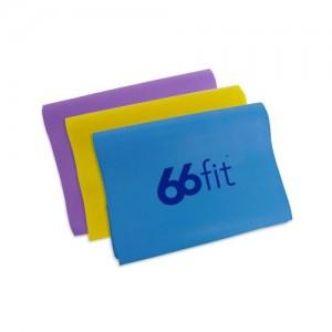 66fit Bande élastique - lot de 3