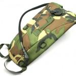 JNTworld 3L hydratation vessie sac réservoir d'eau jeu de guerre pour la randonnée formation cycliste avec sac à dos, 3L, Modèle US Woodland